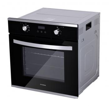 Духовой шкаф Электрический Hyundai HEO 6647 IX серебристый