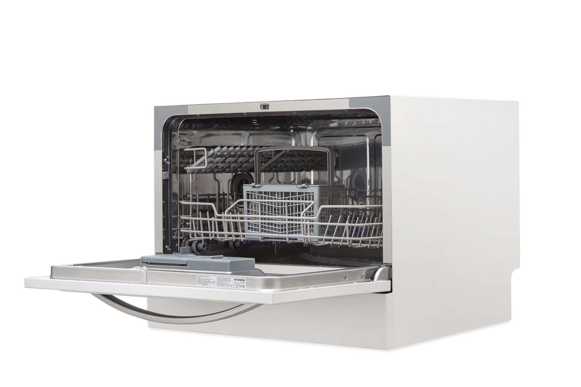 Посудомоечная машина Hyundai DT305 белый (компактная)