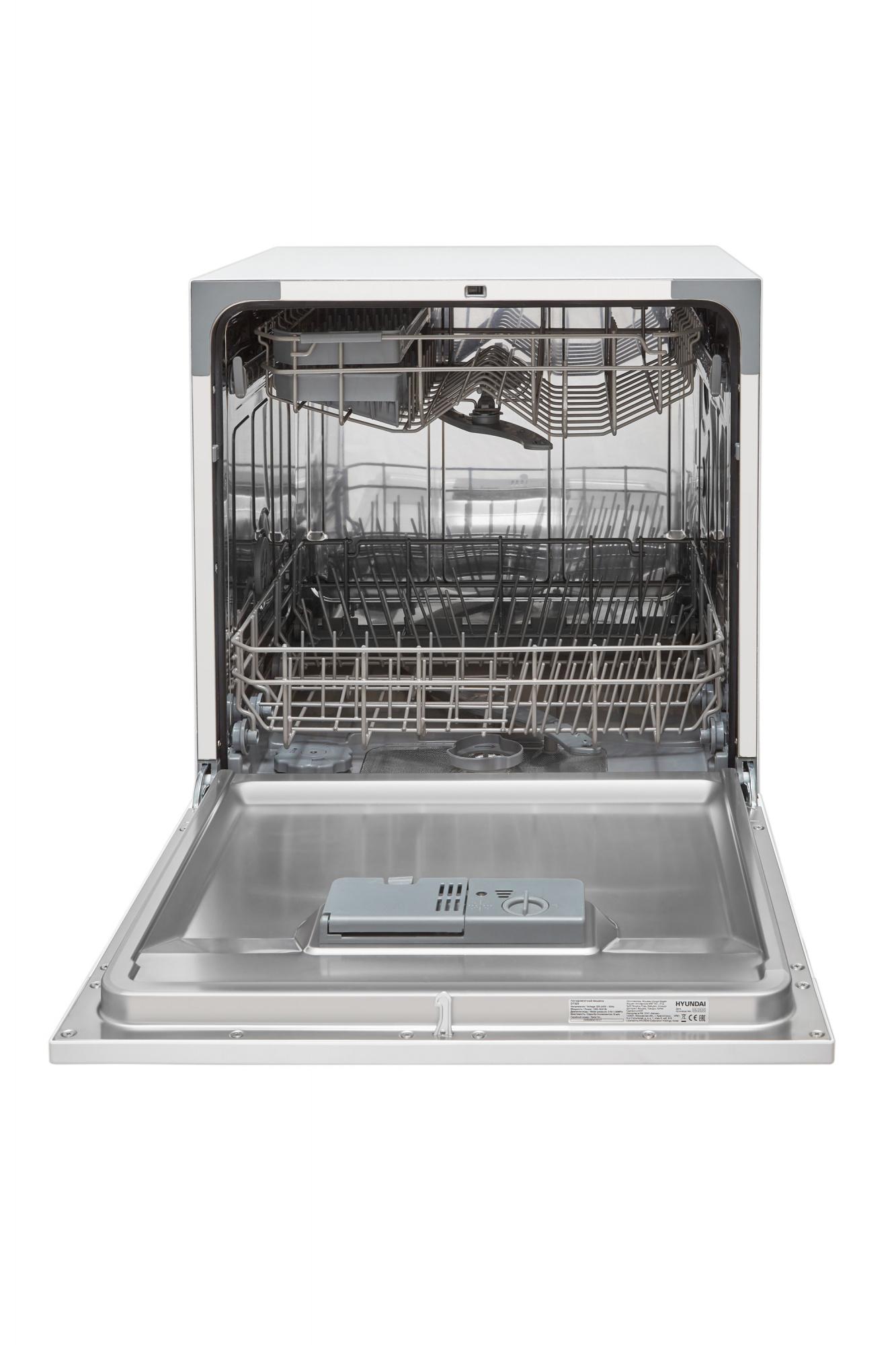 Посудомоечная машина Hyundai DT505 белый (компактная)