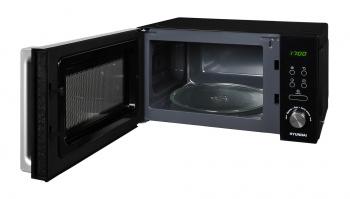 Микроволновая Печь Hyundai HYM-D3001 20л. 700Вт черный/хром