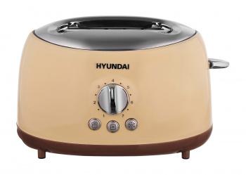 Тостер Hyundai HYT-8004 700Вт бежевый/коричневый