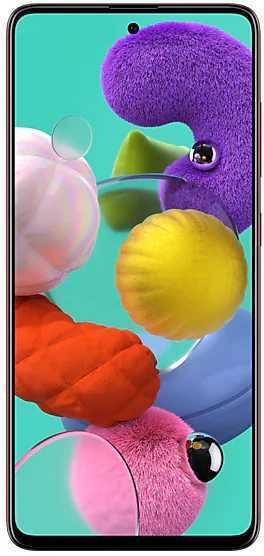 Смартфон Samsung SM-A515F Galaxy A51 64Gb 4Gb красный моноблок 3G 4G 2Sim 6.5