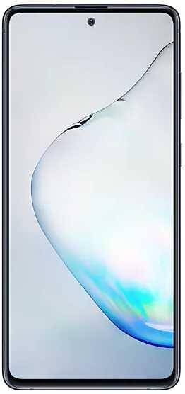 Смартфон Samsung SM-N770F Galaxy Note 10 Lite 128Gb 6Gb черный моноблок 3G 4G 2Sim 6.7