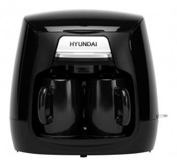 Кофеварка капельная Hyundai HYD-0203 500Вт черный