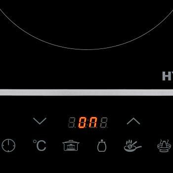 Плита Электрическая Hyundai HYC-0104 черный стеклокерамика (настольная)