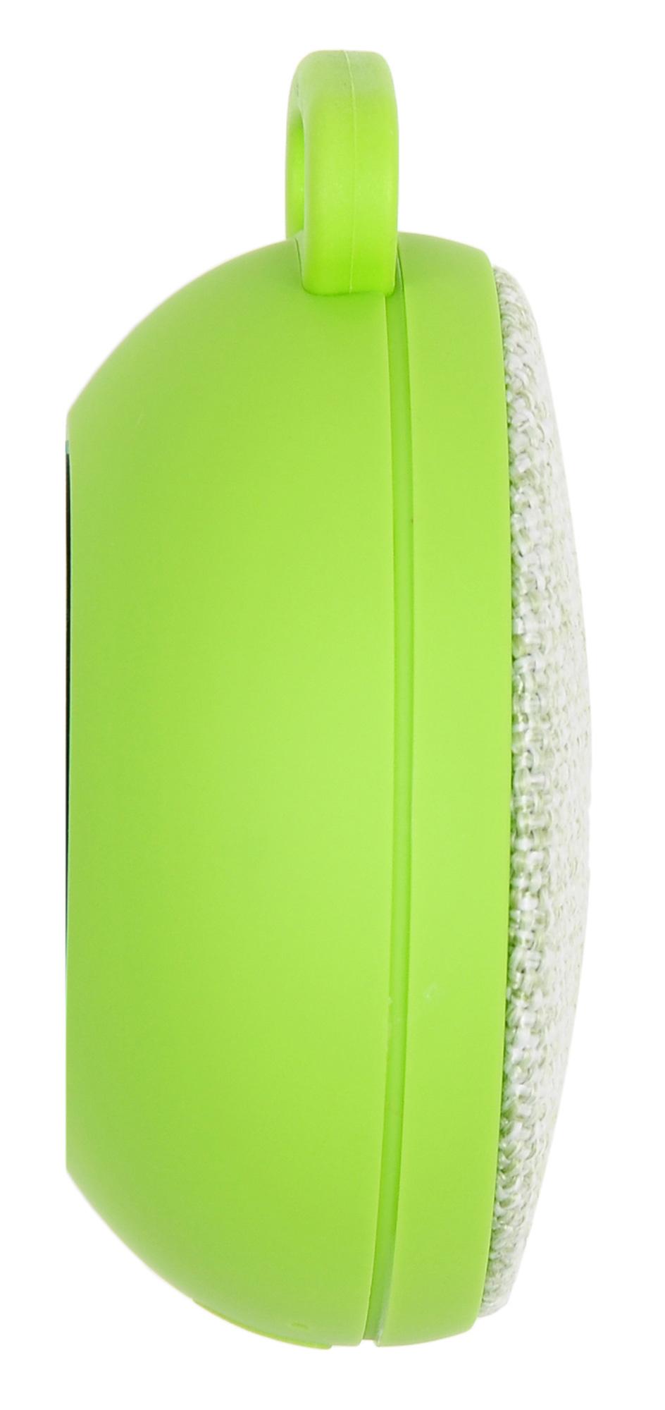 Колонка порт. Hyundai H-PAC130 светло-зеленый 3W 1.0 BT/3.5Jack/USB 10м 300mAh