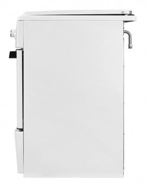 Плита Газовая Hyundai RGG223 белый (металлическая крышка) реш.чугун