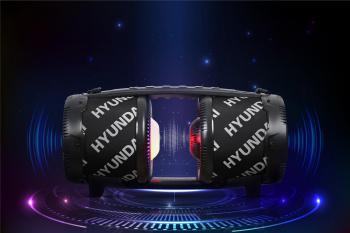 Минисистема Hyundai H-MAC220 черный 45Вт FM USB BT SD/MMC