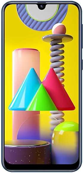 Смартфон Samsung SM-M315F Galaxy M31 128Gb 6Gb синий моноблок 3G 4G 2Sim 6.4