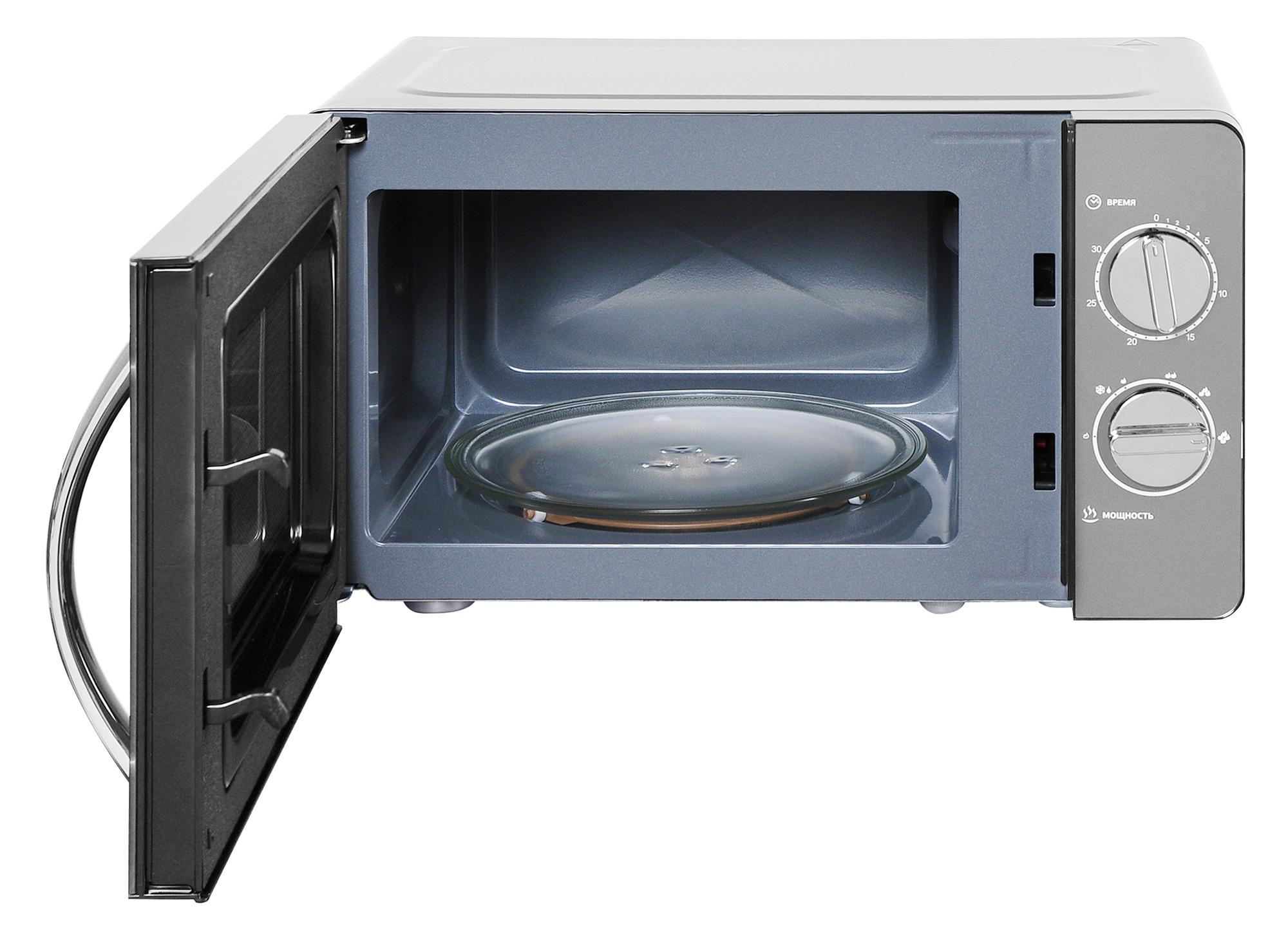 Микроволновая Печь Hyundai HYM-M2007 20л. 700Вт черный/хром
