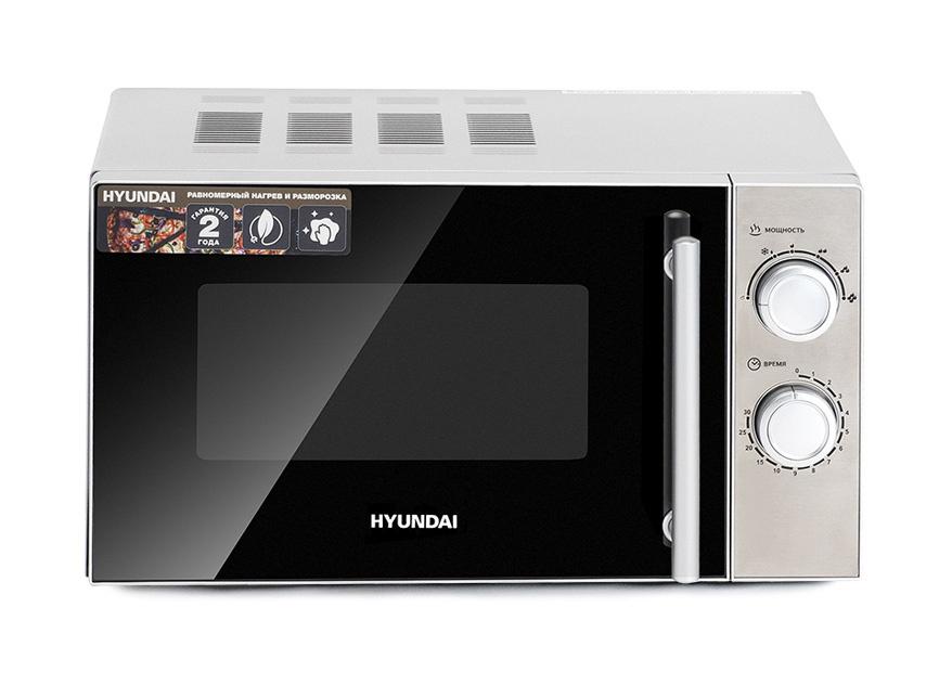 Микроволновая Печь Hyundai HYM-M2040 20л. 700Вт серебристый