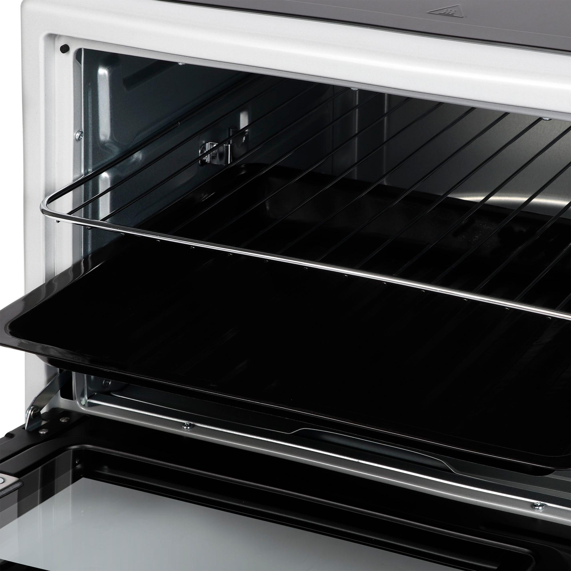 Мини-печь Hyundai MIO-HY056 42л. 2000Вт черный/серебристый