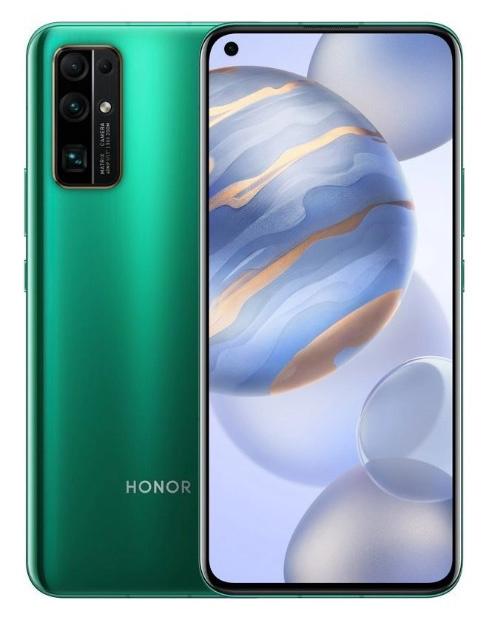 Смартфон Honor 30 128Gb 8Gb зеленый моноблок 3G 4G 5.84