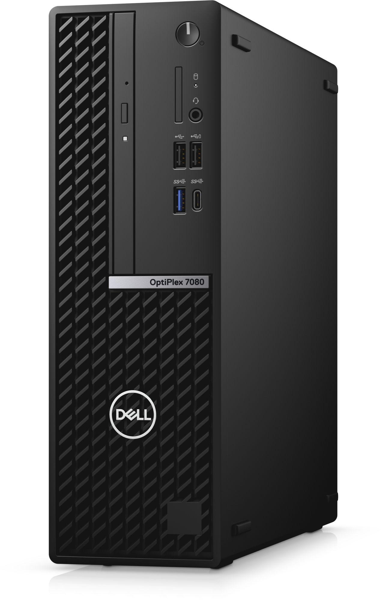 ПК Dell Optiplex 7080 SFF i7 10700 (2.9)/16Gb/SSD512Gb/UHDG 630/DVDRW/CR/Windows 10 Professional/GbitEth/200W/клавиатура/мышь/черный