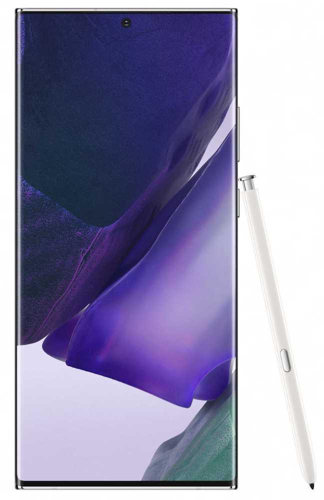 Смартфон Samsung SM-N985F Galaxy Note 20 Ultra 256Gb 8Gb белый моноблок 3G 4G 2Sim 6.9