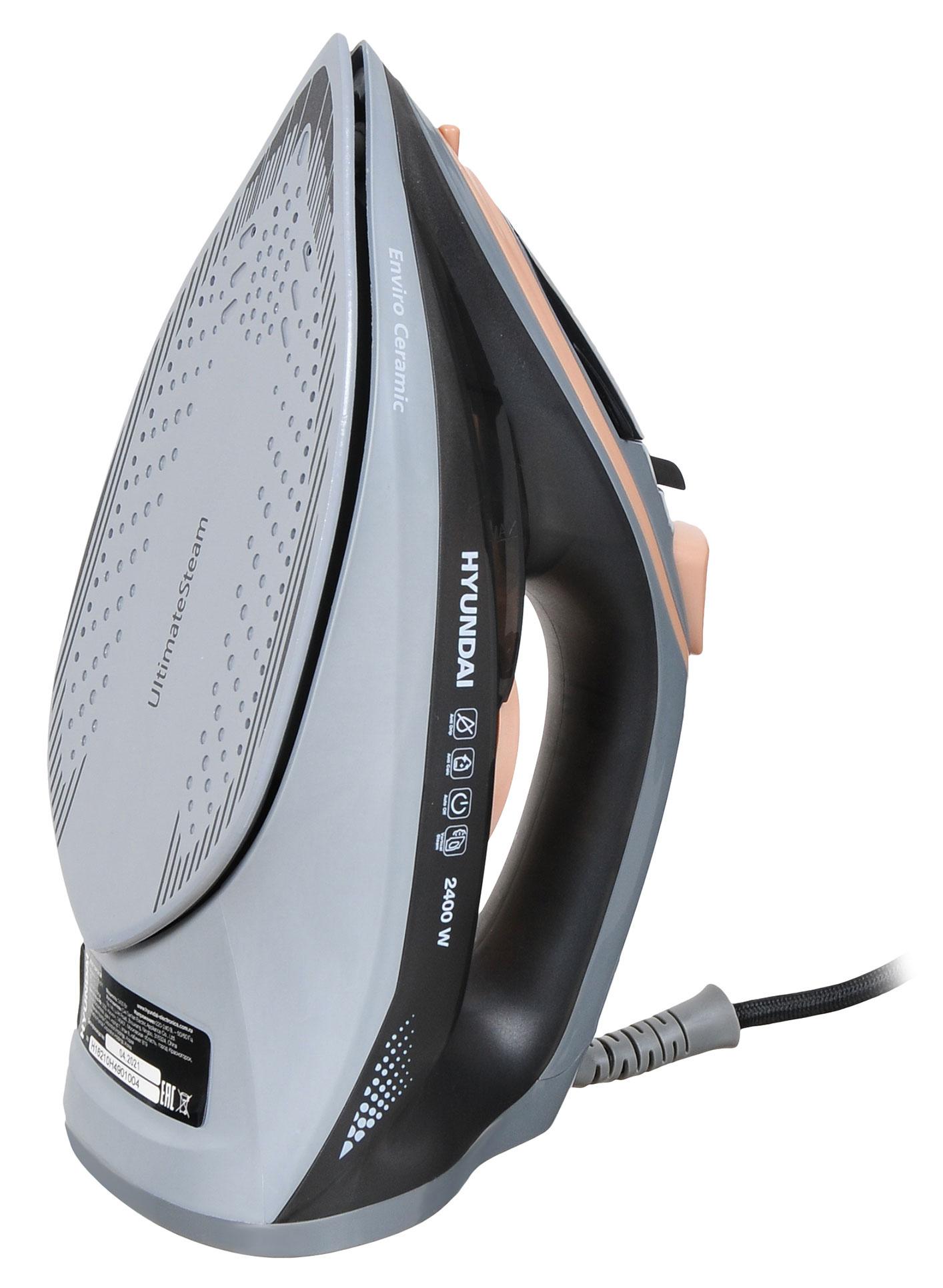 Утюг Hyundai H-SI01671 2400Вт голубой
