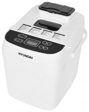 Хлебопечь Hyundai HYBM-3080 500Вт белый/серый