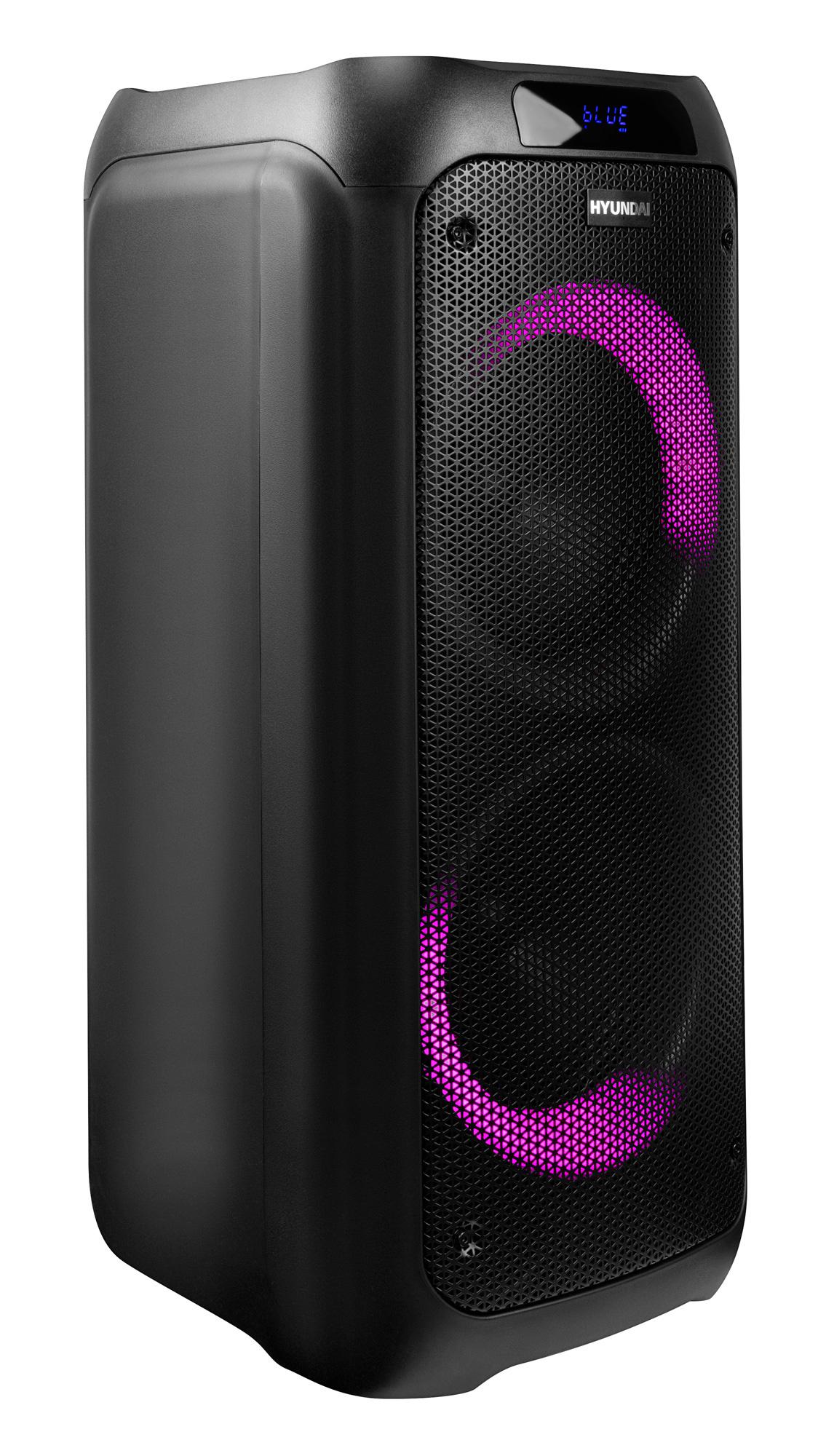Минисистема Hyundai H-MC600 черный 600Вт FM USB BT SD/MMC