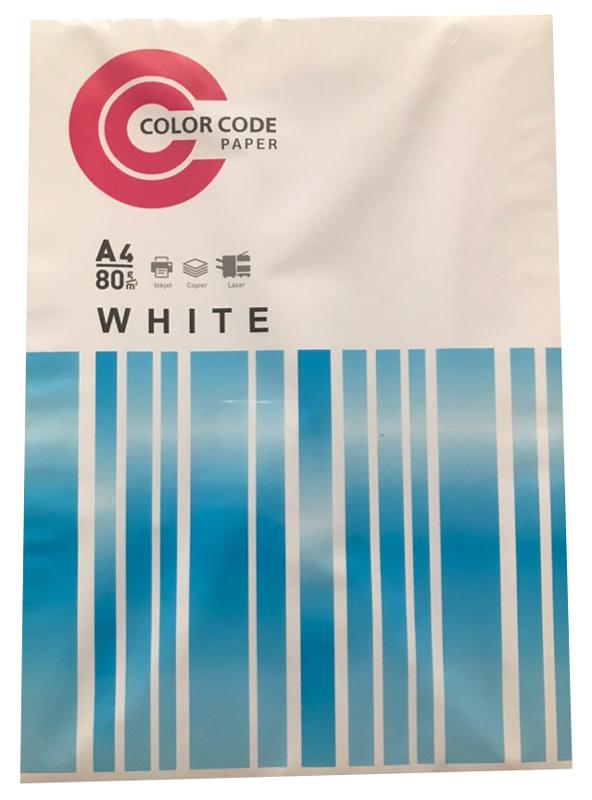 Бумага ColorCode 100 A4/80г/м2/100л./белый CIE146% матовое общего назначения(офисная)