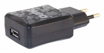 Сетевое зар./устр. Buro TJ-138b Smart 2.1A универсальное черный (TJ-138B)