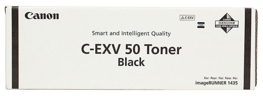Тонер Canon C-EXV50 9436B002 черный туба 465гр. для копира IR1435/1435i/1435iF