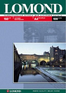 Фотобумага Lomond 0102031 A4/160г/м2/25л./белый матовое для струйной печати