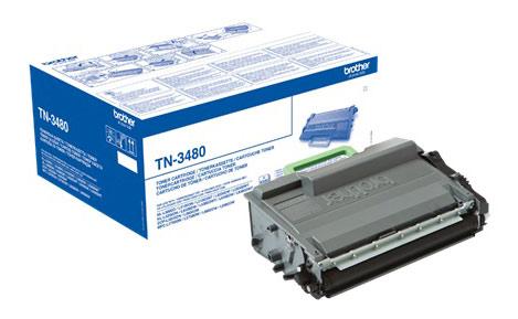 Картридж лазерный Brother TN3480 черный (8000стр.) для Brother HLL5100/5200/6250/6300/6400/DCPL5500/6600/MFCL5700/5750/6800/6900