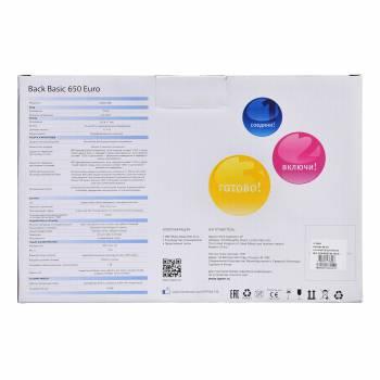 Ippon - Источник бесперебойного питания Back Basic 650/850/1050/1500/2200 Euro