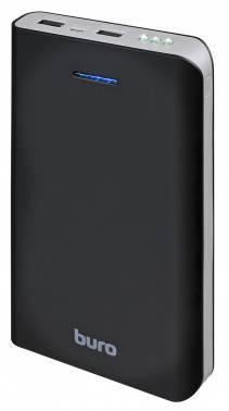 Мобильный аккумулятор Buro RA-25000 Li-Ion 25000mAh 2.1A+1A черный 2xUSB