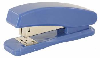Степлер настольный Buro 075000400 24/6 (20листов) синий 100скоб пластик