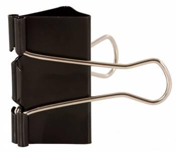 Зажимы Buro 065000401 металл 32мм черный (упак.:12шт) картонная коробка