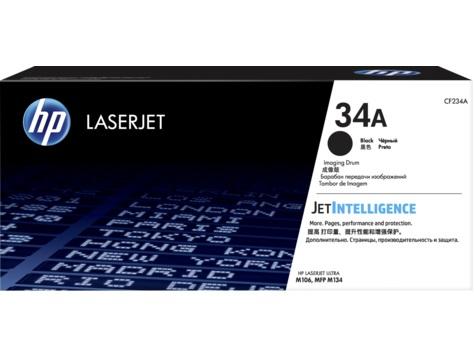 Блок фотобарабана HP 34A CF234A черный ч/б:9200стр. для LJ Pro M106/M134 HP