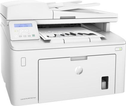 МФУ лазерный HP LaserJet Pro M227sdn (G3Q74A) A4 Duplex Net белый