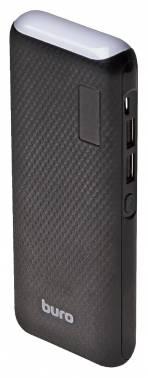 Мобильный аккумулятор Buro RC-12750B Li-Ion 12750mAh 1A+1A черный 2xUSB