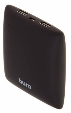 Мобильный аккумулятор Buro RA-7500PL-BK Pillow Li-Ion 7500mAh 2.1A черный 2xUSB