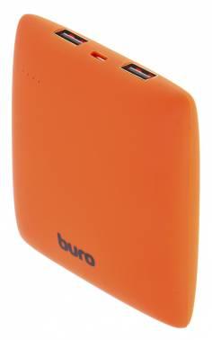 Мобильный аккумулятор Buro RA-7500PL-OR Pillow Li-Ion 7500mAh 2.1A оранжевый 2xUSB