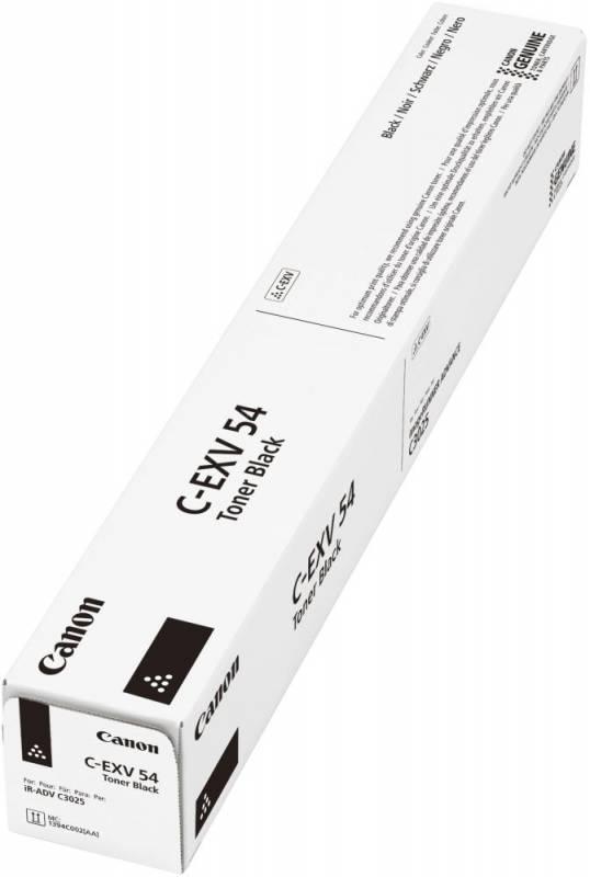 Тонер Canon C-EXV54BK 1394C002 черный туба для копира C3025i