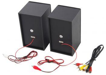 Микросистема Hyundai H-MS100 черный 12Вт/CD/CDRW/DVD/DVDRW/FM/USB