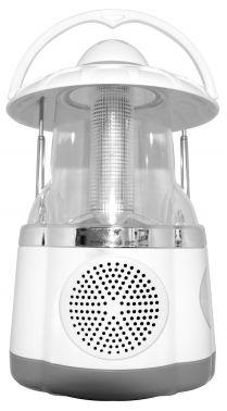 Радиоприемник портативный Hyundai H-RLC140 белый/серебристый