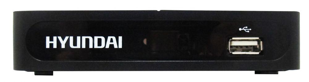 Ресивер DVB-T2 Hyundai H-DVB180 черный