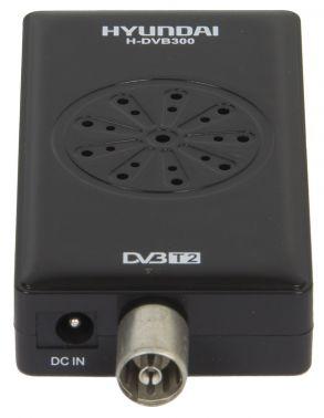 Ресивер DVB-T2 Hyundai H-DVB300 черный