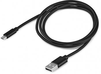 Кабель Buro BHP RET LGHT-B micro USB B (m) USB A(m) 1м черный