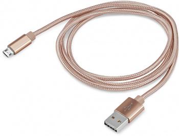 Кабель Buro Braided BHP RET MICUSB-BR USB A(m) micro USB B (m) 1м золотистый