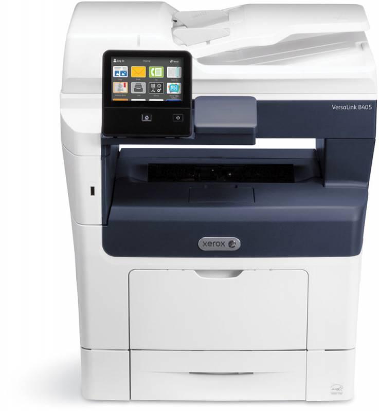 МФУ лазерный Xerox Versalink B405DN (B405V_DN) A4 Duplex белый/синий