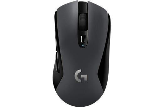 Мышь Logitech G603 LIGHTSPEED черный оптическая (12000dpi) беспроводная BT USB (5but)