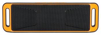 Колонка порт. Hyundai H-PAC160 черный/оранжевый 6W 1.0 BT/3.5Jack/USB