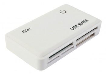 CR-211RWH USB2.0 Rubber White