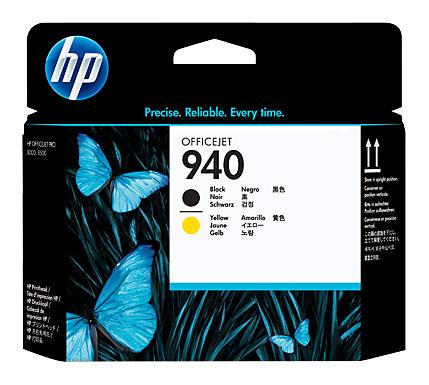 Печатающая головка HP 940 C4900A черный/желтый для HP OJ Pro 8000/8500/8500a