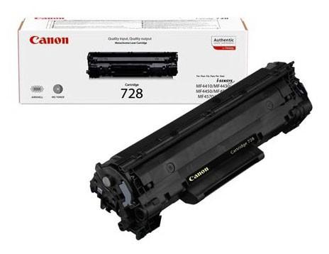 Картридж лазерный Canon 728 3500B010 черный (2100стр.) для Canon MF4410/4430/4450/4550/4570/4580/4580dn/FAX-L150/170