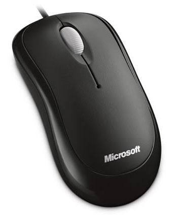 Мышь Microsoft Basic For Bsnss черный оптическая (1000dpi) USB (2but)